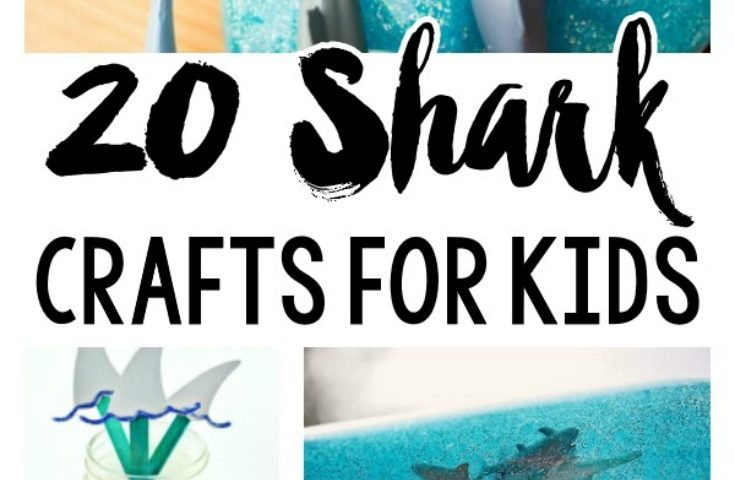 20 Easy and Fun Shark Crafts for Kids