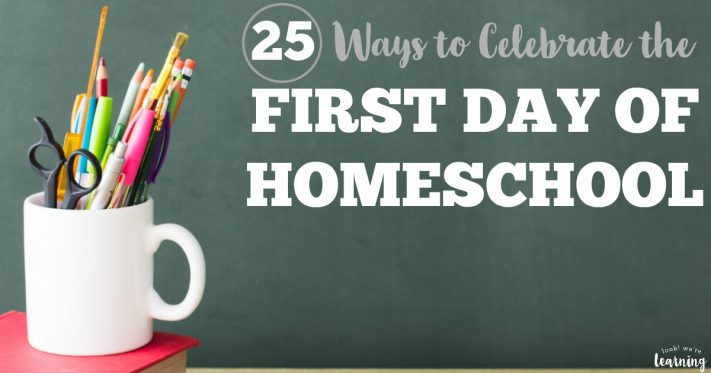 Make this homeschool year one to remember with these fun first day of homeschool ideas you can try with your family!