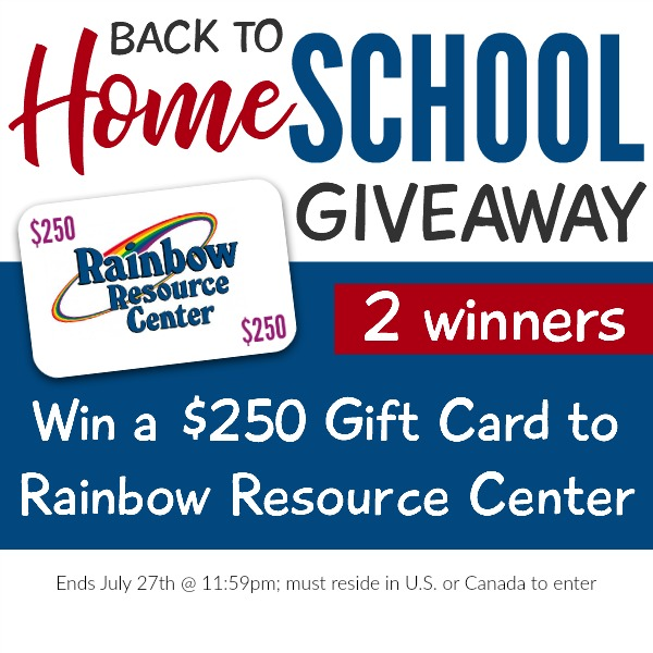 Rainbow Resource Giveaway square