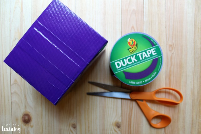 Geometry Dice - A Simple Duck Tape Craft