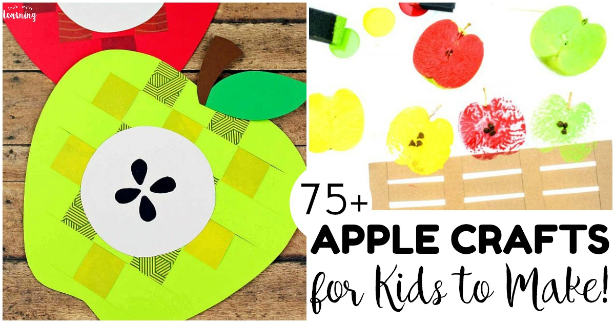Over 75 Fun and Easy Apple Crafts for Kids