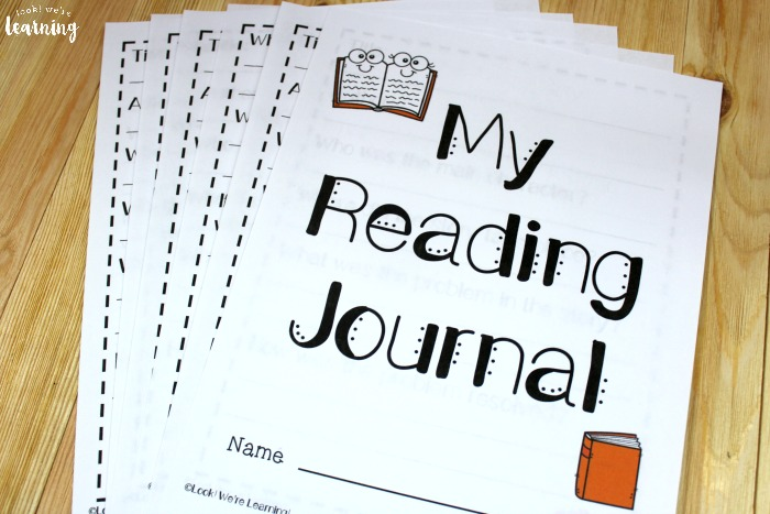 Printable Fall Reading Journal for Kids