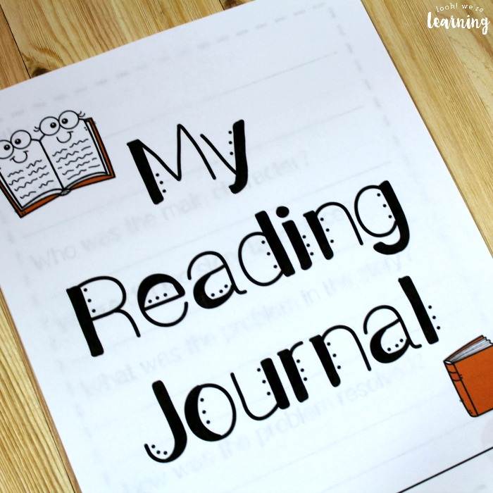 Printable Kids Reading Journal