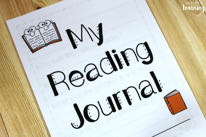 Reading Journal Printable for Kids