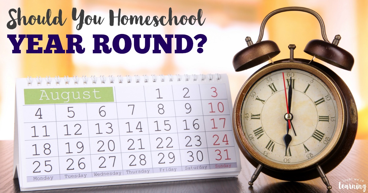 Should You Homeschool Year Round or Not