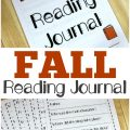 This printable fall reading journal for kids is a simple way to help children analyze the stories they read!