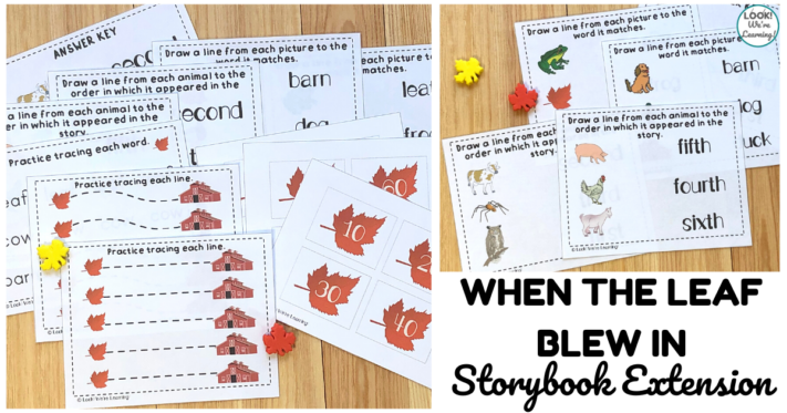 Fun When the Leaf Blew In Storybook Extension