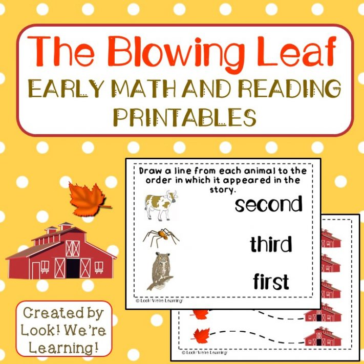 When the Leaf Blew In Printables for Kids