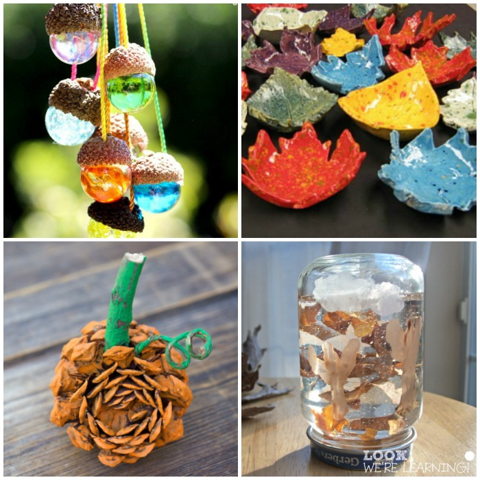 Over 25 Fall Nature Crafts for Kids to Make