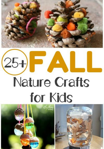 Share these fall nature crafts with your children to make some unforgettable memories this autumn!
