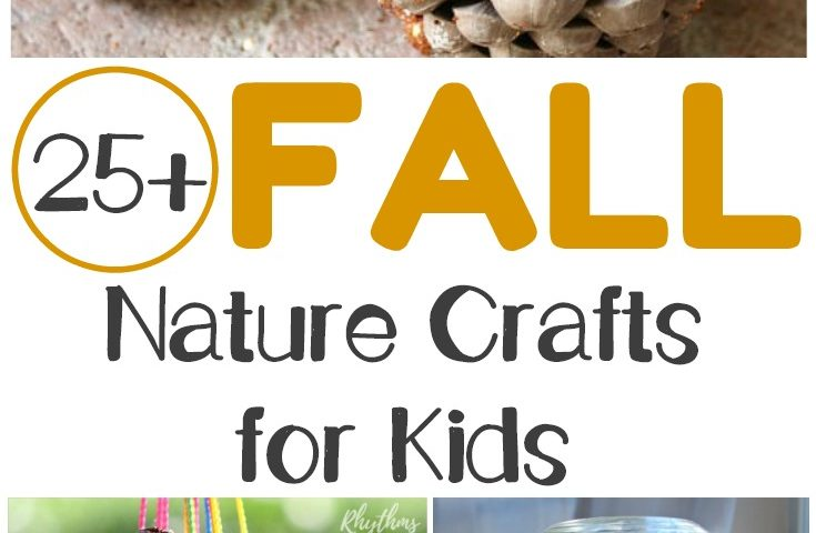 Over 25 Fall Nature Crafts for Kids to Make This Autumn