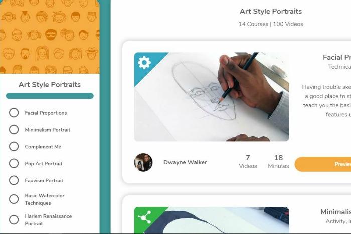 Sparketh Homeschool Art Courses