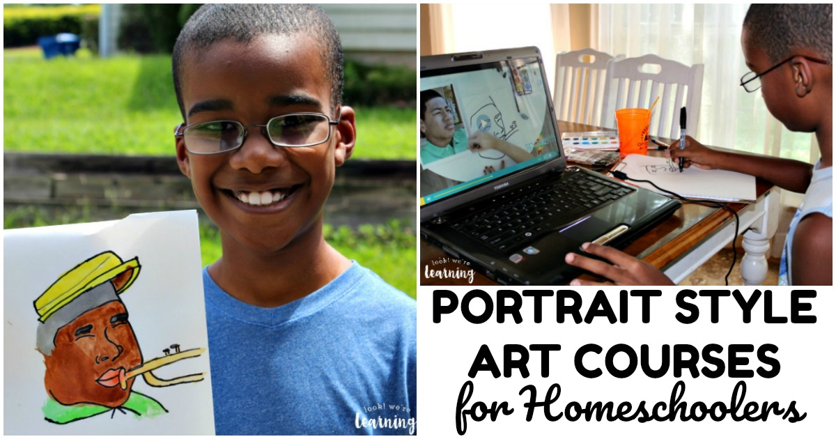 Sparketh Portrait Style Homeschool Art Courses
