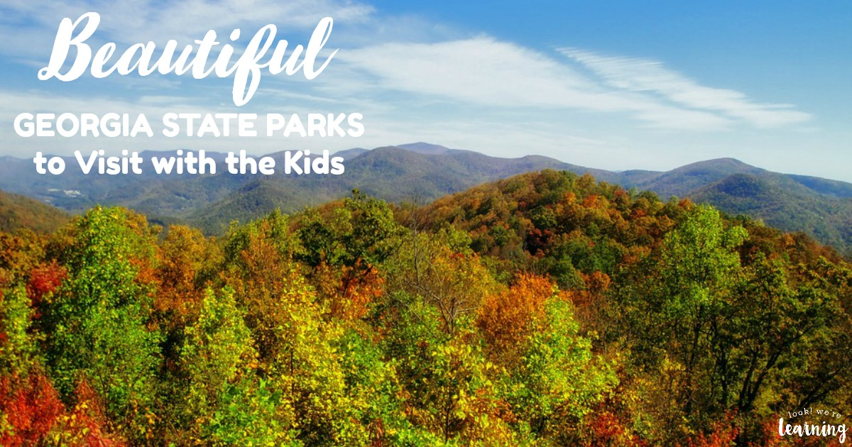 Beautiful Georgia State Parks to Visit with the Kids This Year