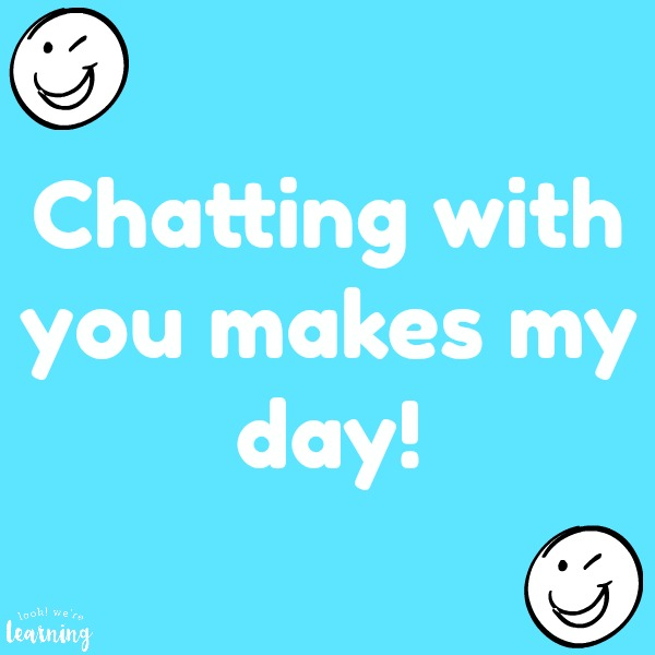 Chatting With You