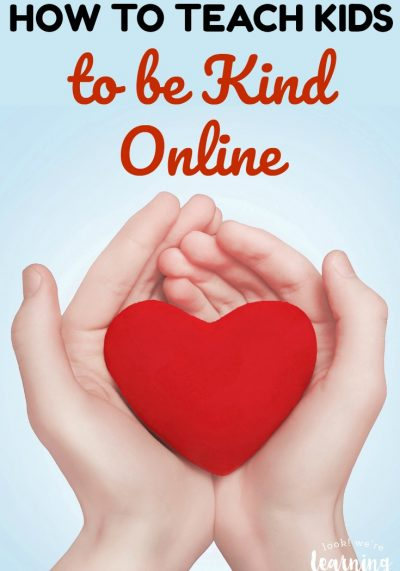 Internet bullying is a worldwide problem. We can help our kids avoid becoming bullies by teaching them how to be kind online. Here's how!