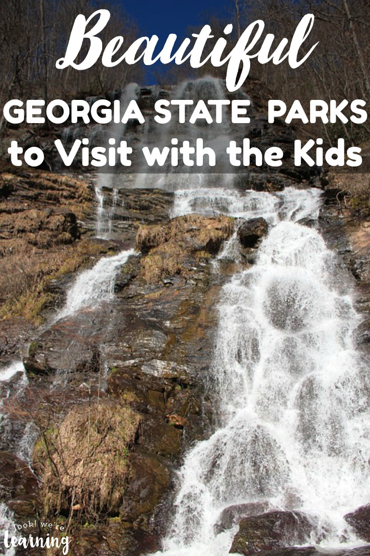 Planning to get out in nature this year? Don't miss these beautiful Georgia state parks to visit with the kids!