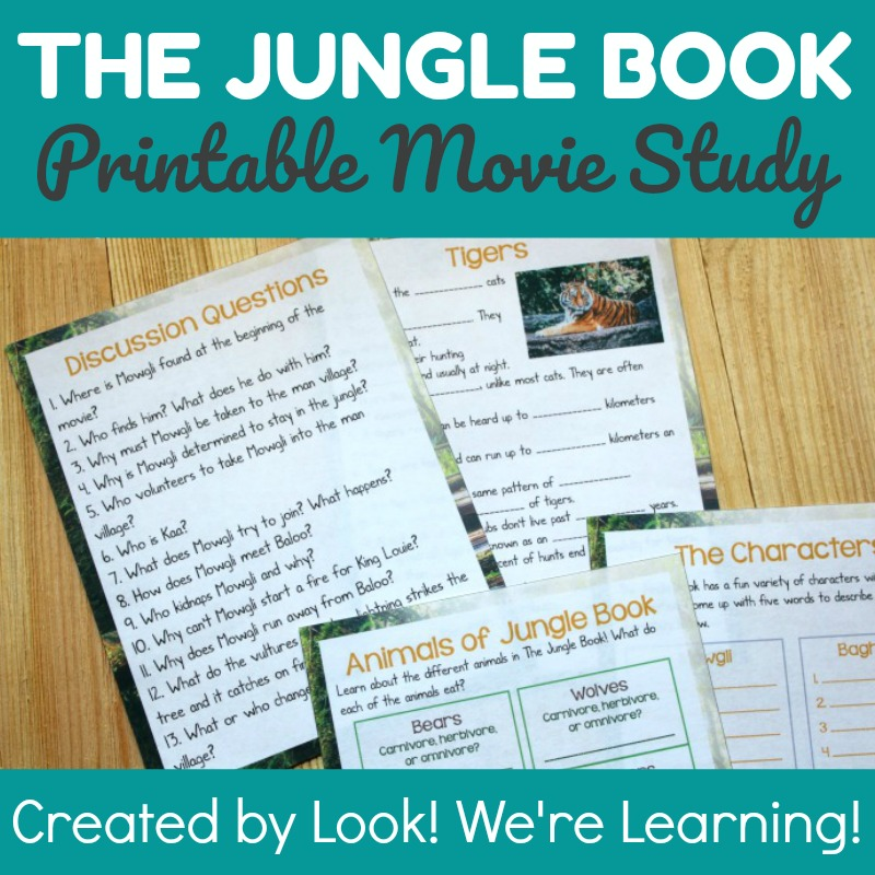 The Jungle Book Study