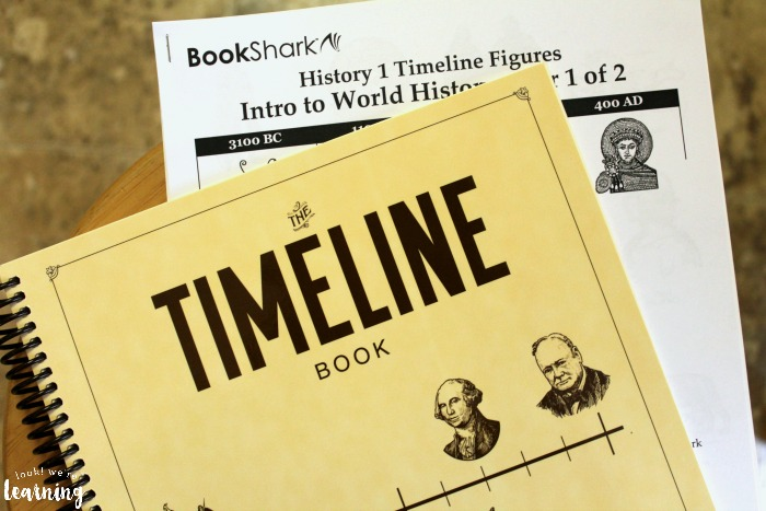 BookShark History Timeline Kit for Level 1