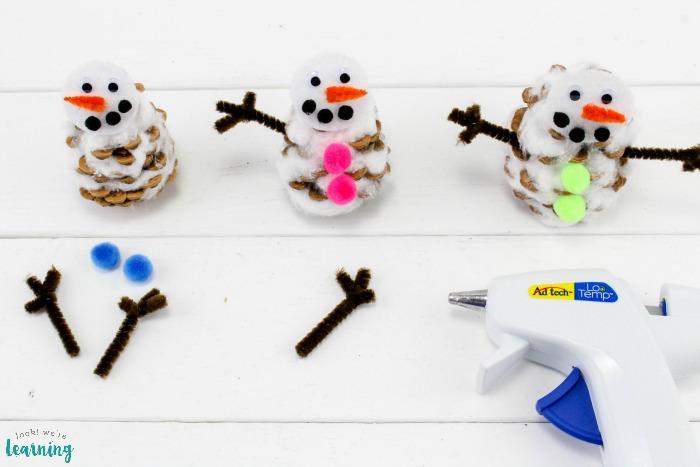 Cute Winter Snowman Craft for Kids