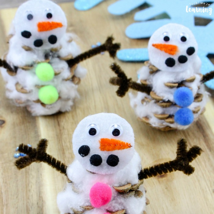 Easy Snowman Craft for Kids