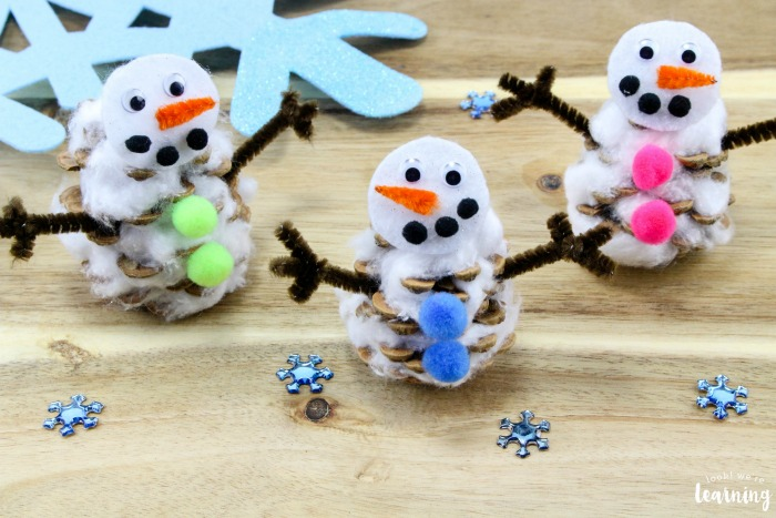 Simple Snowman Craft for Kids