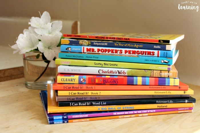 A Selection of BookShark Readers for Kids
