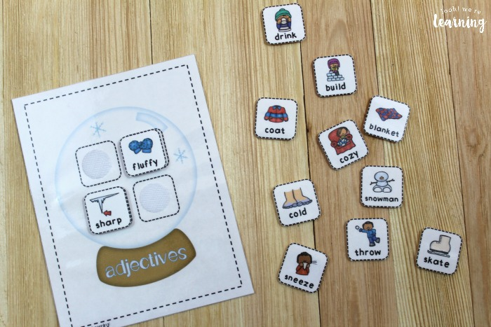 Printable Parts of Speech Game