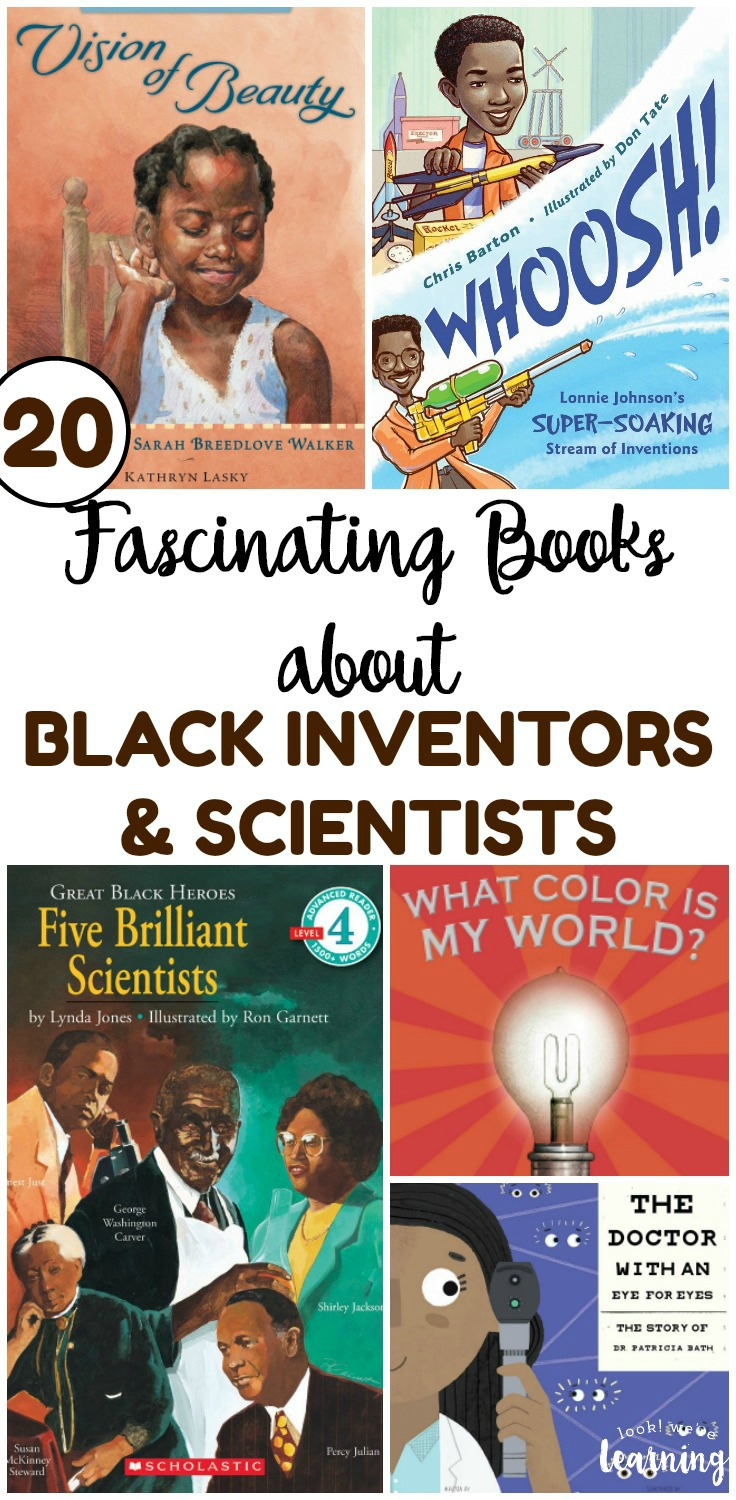 Learn about some of the incredible black makers and inventors in history with this list of fascinating books about black inventors and scientists!