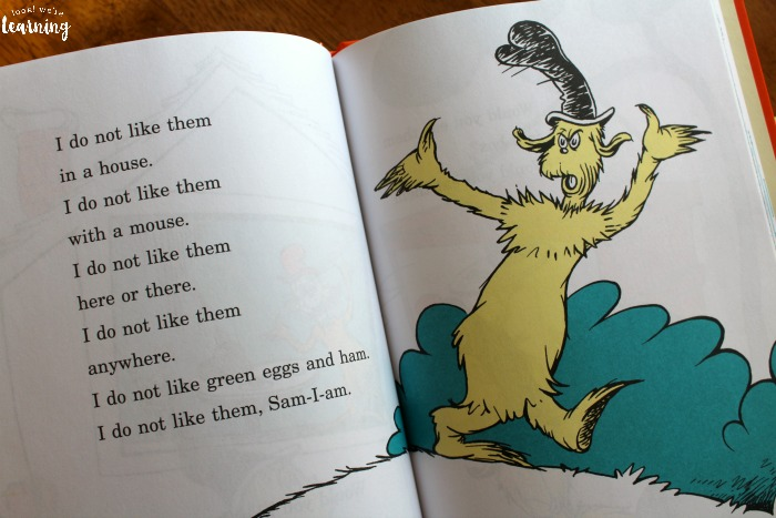 Green Eggs and Ham Poetry Activity