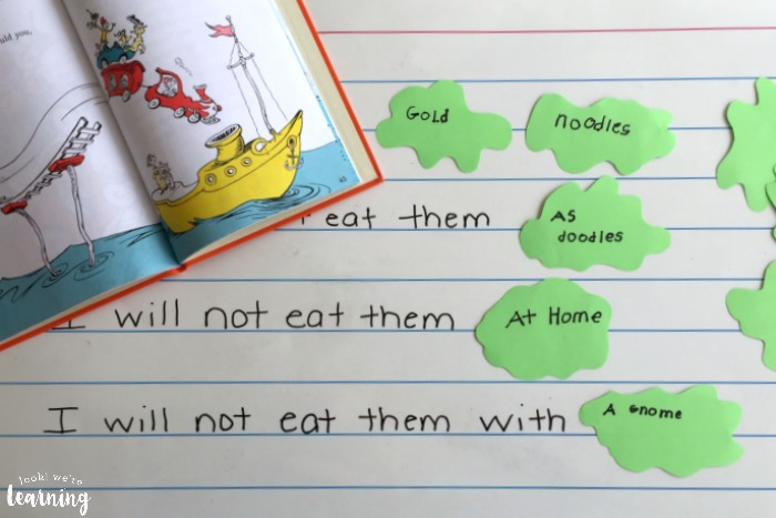 Poetry Writing Activity with Green Eggs and Ham