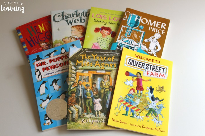 BookShark Level 1 Read Aloud Books