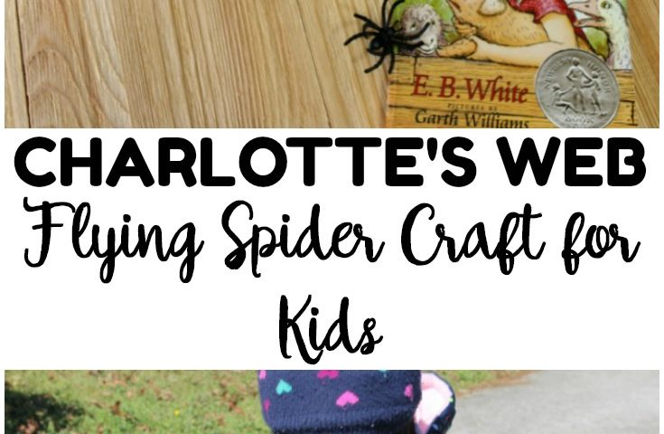 Charlotte's Web Craft for Kids: Fun Floating Spider Craft