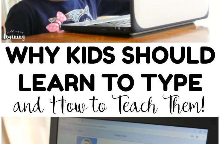 How to Teach Kids to Type with Typesy Homeschool Typing