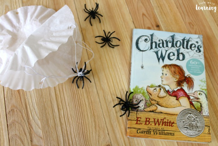 Simple Charlotte's Web Craft for Kids