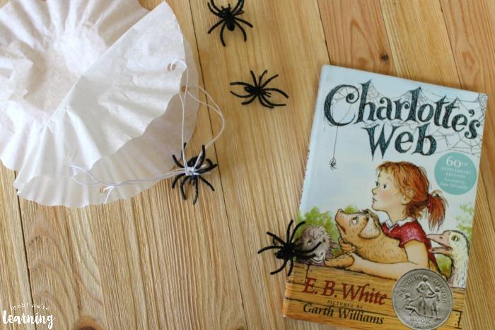 Simple Charlotte's Web Craft