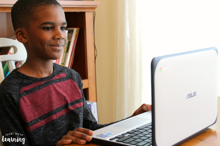 Using Typesy Homeschool Typing Program