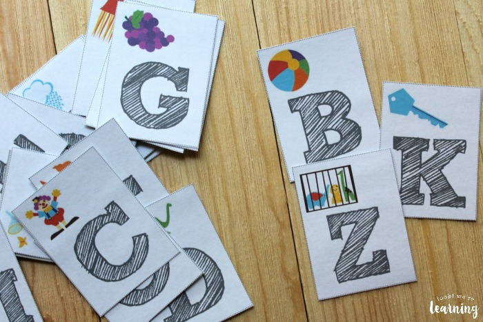 Consonant Flashcards for Kids