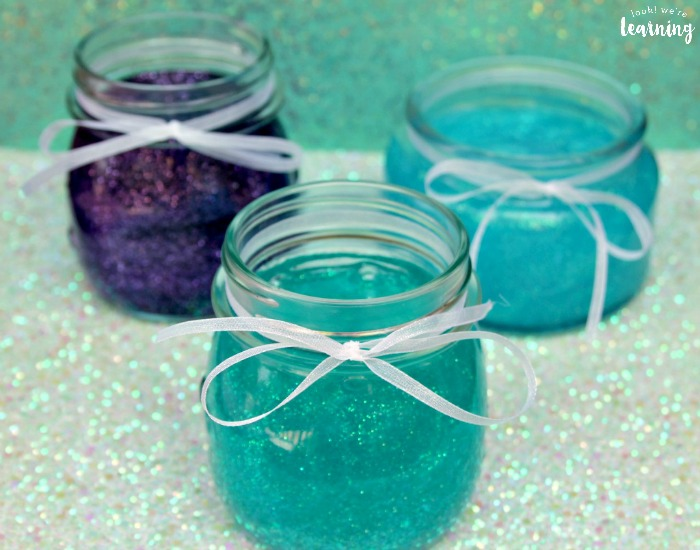 DIY Glitter Mermaid Slime