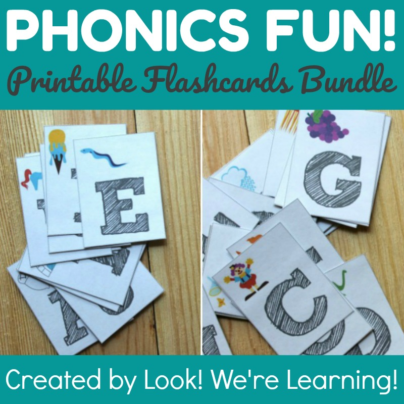 Phonics Flashcards Bundle