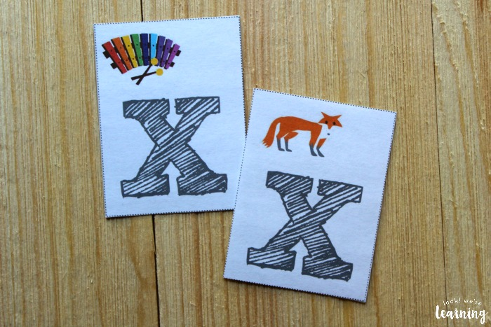 Printable Consonant Flashcards for Kids