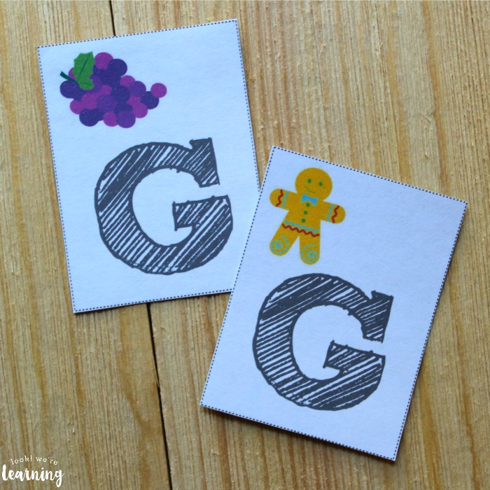 Printable Consonant Phonics Flashcards