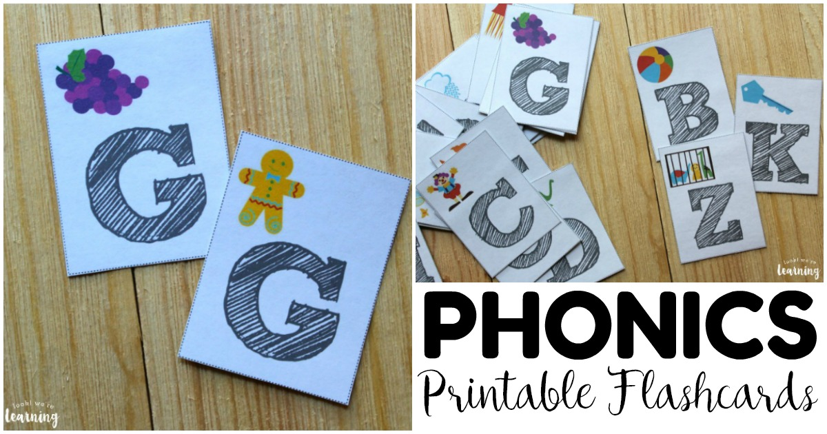 Printable Phonics Flashcards for Early Readers
