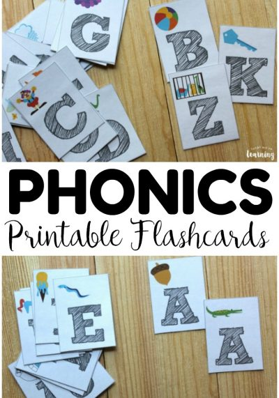 These printable phonics flashcards are excellent for helping early readers practice sounding out vowels and consonants! Great for literacy centers too!