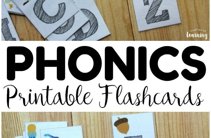 Phonics Fun! Printable Phonics Flashcards for Kids