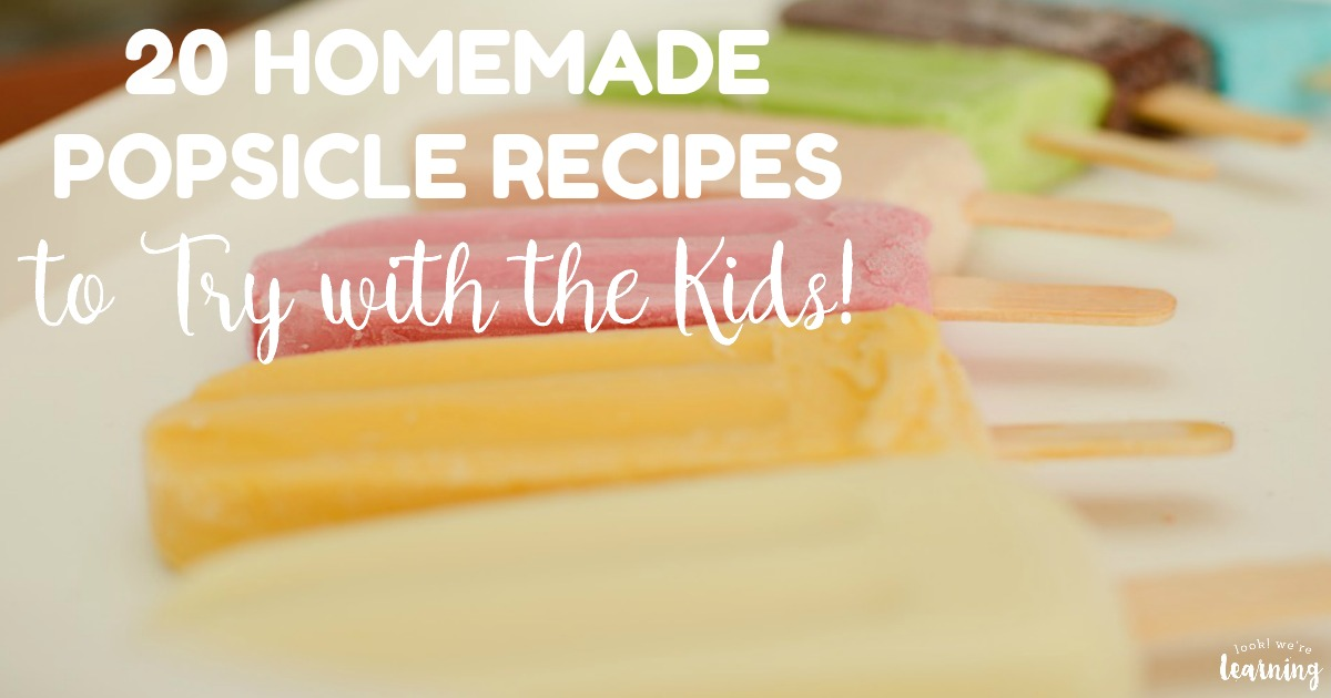 20 Homemade Ice Popsicle Recipes for Kids to Make