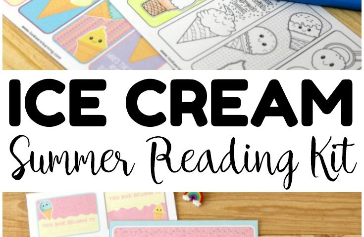 Ice Cream Printable Summer Reading Log