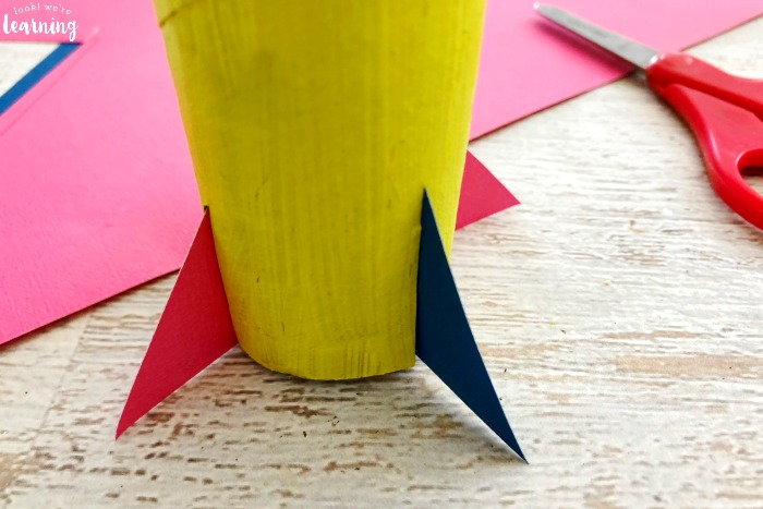 Paper Rocket Craft for Kids to Make