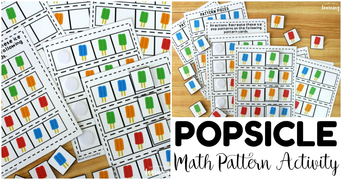 photograph relating to Printable Pattern named Ice Pop Math Types Game - Search! Ended up Discovering!