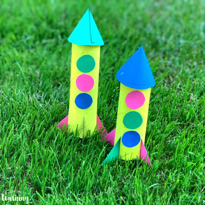 Simple Paper Rocket Craft
